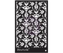 Finnabair Vintage Wallpaper 6x9 Inch Stencil (967987)