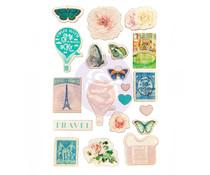 Prima Marketing Capri Wood Stickers (996130)
