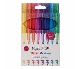Papermania Glitter Markers (8pcs) (PMA 8511004)