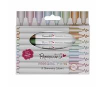 Papermania Metallic Pens (8pcs) (PMA 8511005)