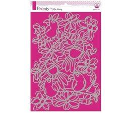 Pronty Crafts Birds & Bees A4 Stencil (470.765.025)