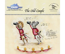 The Card Hut The Odd Couple Clear Stamps (CCTBTOC)