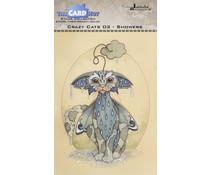 The Card Hut Crazy Cats Showers Clear Stamps (LRCC002)