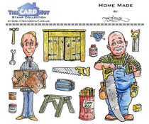 The Card Hut Home Made Clear Stamps (MBGSHM)