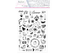 Aladine Bullet Journal Foam Stamps Summer (03934)