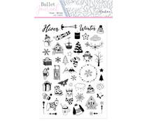 Aladine Bullet Journal Foam Stamps Winter (03936)