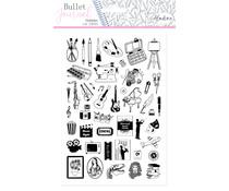 Aladine Bullet Journal Foam Stamps Hobbies (03942)