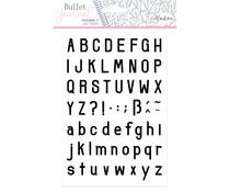 Aladine Bullet Journal Foam Stamps Alphabet 3 (03949)