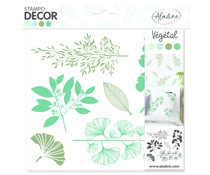 Aladine Decor Foam Stamps Flora (0580)
