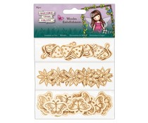 Gorjuss Faerie Folk Wooden Embellishments (36pcs) (GOR 356007)