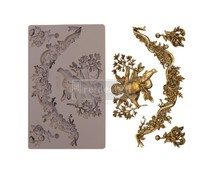 Re-Design with Prima Divine Floral 5x8 Inch Mould (645403)