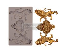 Re-Design with Prima Royal Emblem 5x8 Inch Mould (647414)
