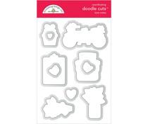 Doodlebug Design Love Notes Doodle Cuts (6585)