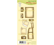 Leane Creatief Cameras, Filmstrips & Pictures Clear Stamps (55.6678)