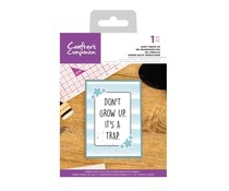 Crafter's Companion Don't Grow Up Clear Stamps (CC-CA-ST-DONT)
