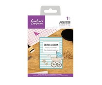Crafter's Companion Silence is Golden Clear Stamps (CC-CA-ST-SILE)