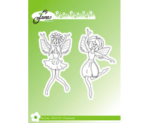 By Lene Fairies Clear Stamps (BLS1134)