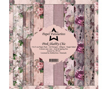 Dixi Craft Pink Shabby Chic 6x6 Inch Paper Pack (PF122)