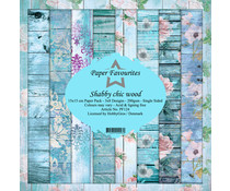 Dixi Craft Shabby Chic Wood 6x6 Inch Paper Pack (PF124)