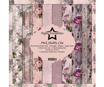Dixi Craft Pink Shabby Chic 12x12 Inch Paper Pack (PF322)