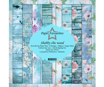 Dixi Craft Shabby Chic Wood 12x12 Inch Paper Pack (PF324)