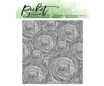 Picket Fence Studios Round and Round We Go Clear Stamps (BB-135)