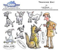 The Card Hut Training Day Clear Stamps (MBWWTD)