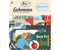 Carta Bella School Days Ephemera (CBDS118024)