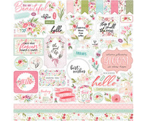 Carta Bella Flora No.3 12x12 Inch Element Sticker (CBF117014)