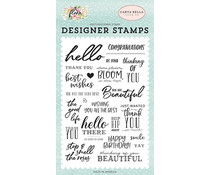 Carta Bella The Good Life Clear Stamps (CBF117040)