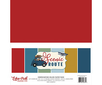 Echo Park Scenic Route 12x12 Inch Coordinating Solids Paper Pack (SR212015)