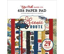Echo Park Scenic Route 6x6 Inch Paper Pad (SR212023)