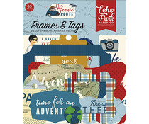 Echo Park Scenic Route Frames & Tags (SR212025)