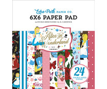 Echo Park Alice in Wonderland No. 2 Inch 6x6 Paper Pad (WO214023)