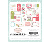 Carta Bella Flora No.3 Frames & Tags (CBF117025)
