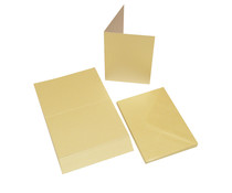 Craft UK Cards & Envelopes C6 Pearlescent Ivory (CUK2094)