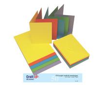 Craft UK Cards & Envelops C6 Bright (CUK281)