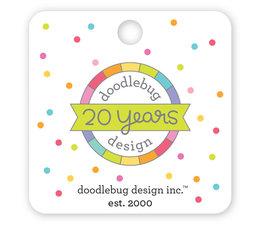 Doodlebug Design 20th Birthday Collectible Pin (6534)