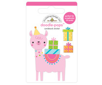 Doodlebug Design Party Llama Doodle-Pops (6633)