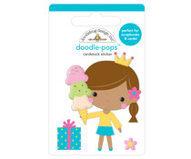 Doodlebug Design Birthday Princess Doodle-Pops (6635)
