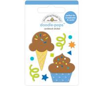 Doodlebug Design Cake & Ice Cream Doodle-Pops (6641)