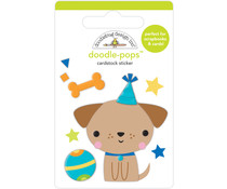Doodlebug Design Yappy Birthday Doodle-Pops (6643)