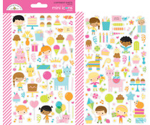 Doodlebug Design Hey Cupcake Mini Icons Stickers (6644)