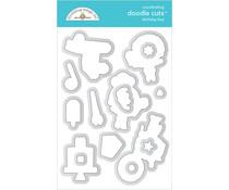 Doodlebug Design Birthday Boy Doodle Cuts (6651)