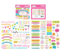 Doodlebug Design Hey Cupcake Chit Chat (6657)