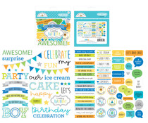 Doodlebug Design Party Time Chit Chat (6659)