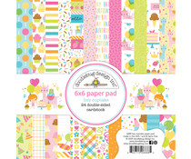 Doodlebug Design Hey Cupcake 6x6 Inch Paper Pad (6688)