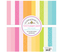 Doodlebug Design Hey Cupcake 12x12 Inch Petite Print Paper Pack (6692)