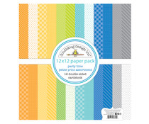 Doodlebug Design Party Time 12x12 Inch Petite Print Paper Pack (6693)