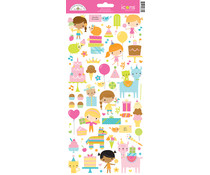 Doodlebug Design Hey Cupcake Icons Sticker (6660)